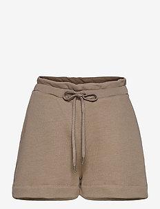 Zayne College - casual shorts - beige melange