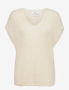 Vic - knitted tops - offwhite