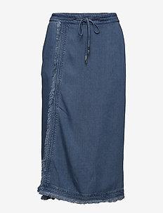 Naomi Denim - denim skirts - denim blue