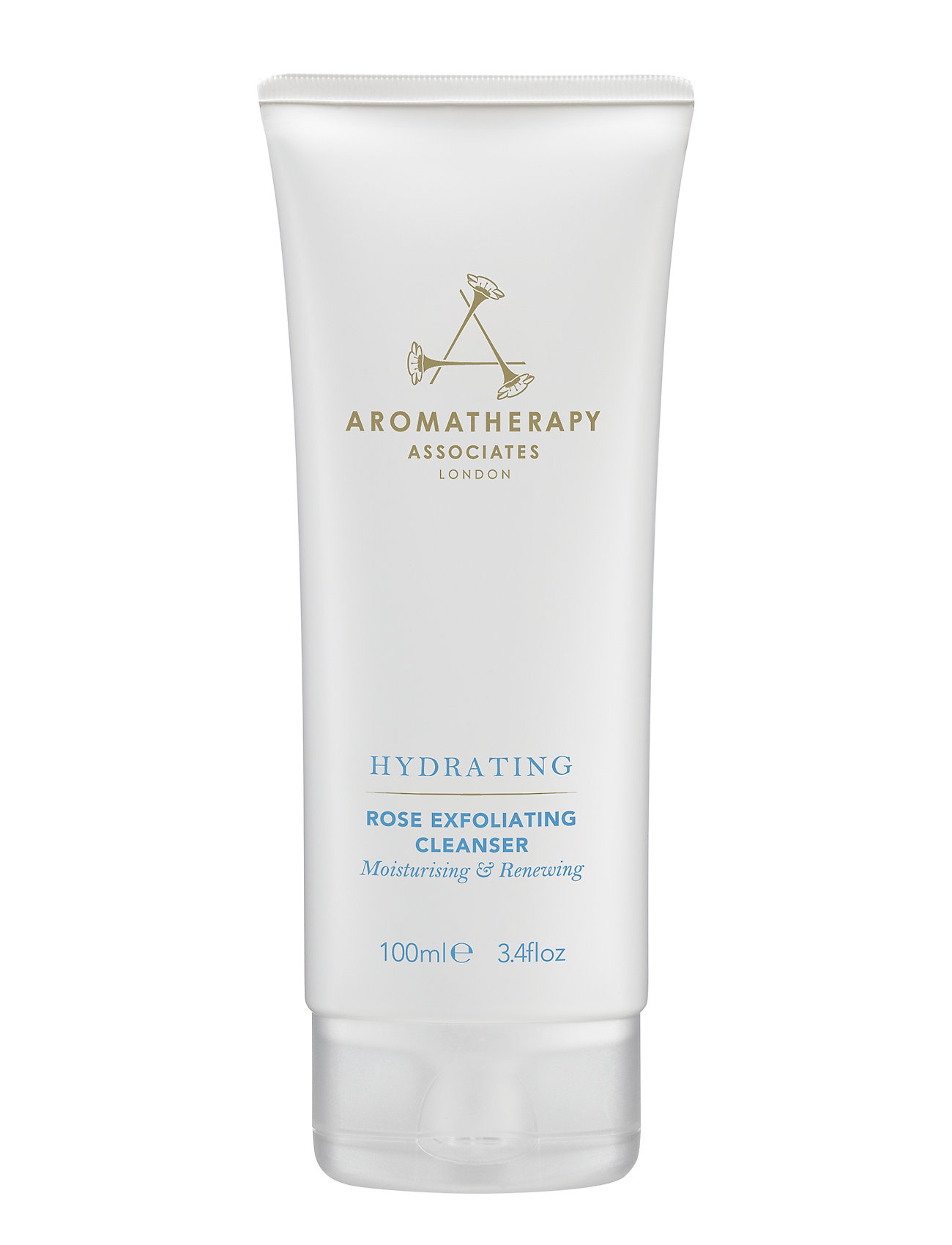Aromatherapy Associates HYDRATING ROSE EXFOLIATING CLEANSER - CLEAR