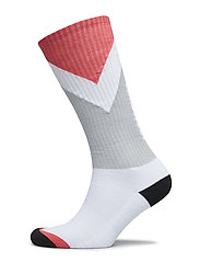 CB Crew Socks - REAL WHITE/ROUGE