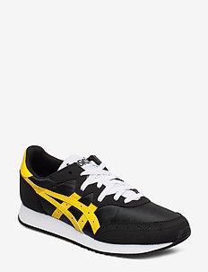 TARTHER OG - lave sneakers - black/saffron
