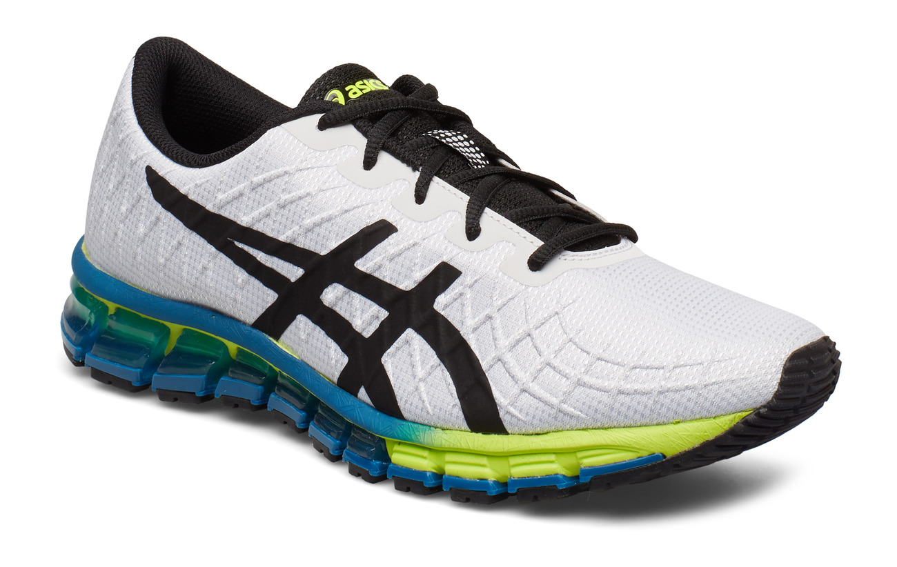 Asics GEL-QUANTUM 180 4 - WHITE/SAFETY YELLOW