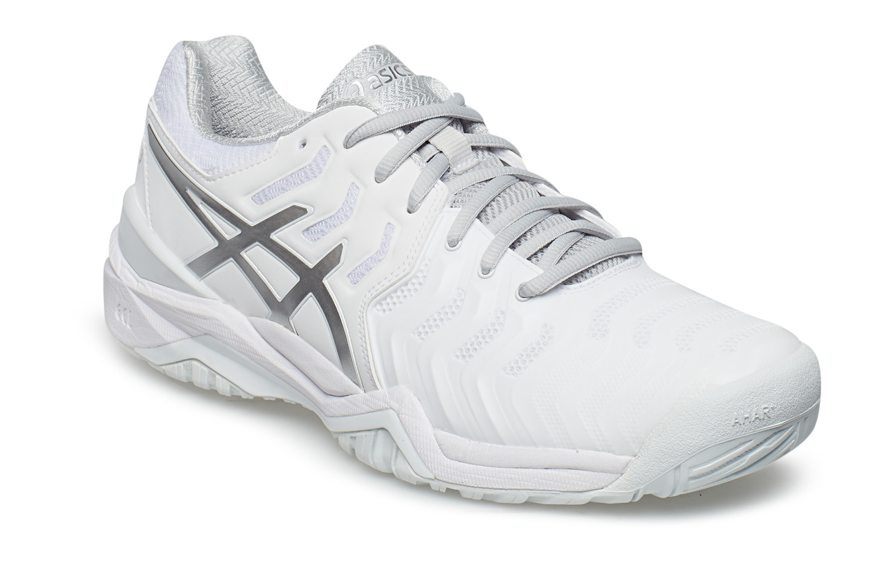 Asics GEL-RESOLUTION 7 - WHITE/SILVER
