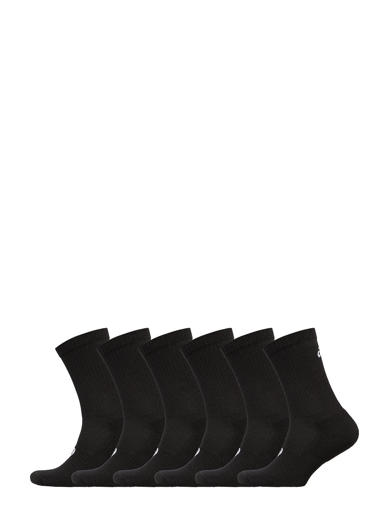 Asics 6PKK CREW SOCK - PERFORMANCE BLACK