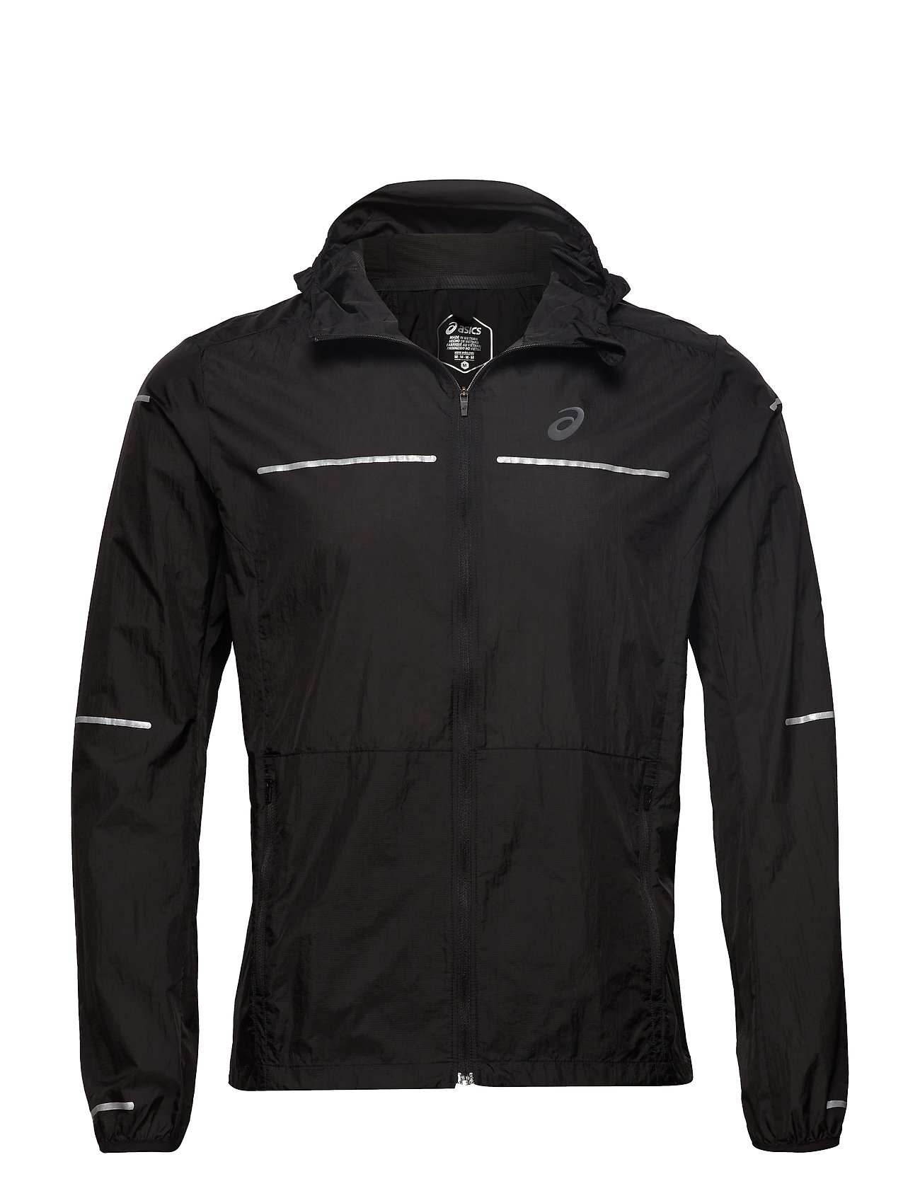 Asics LITE-SHOW JACKET - PERFORMANCE BLACK
