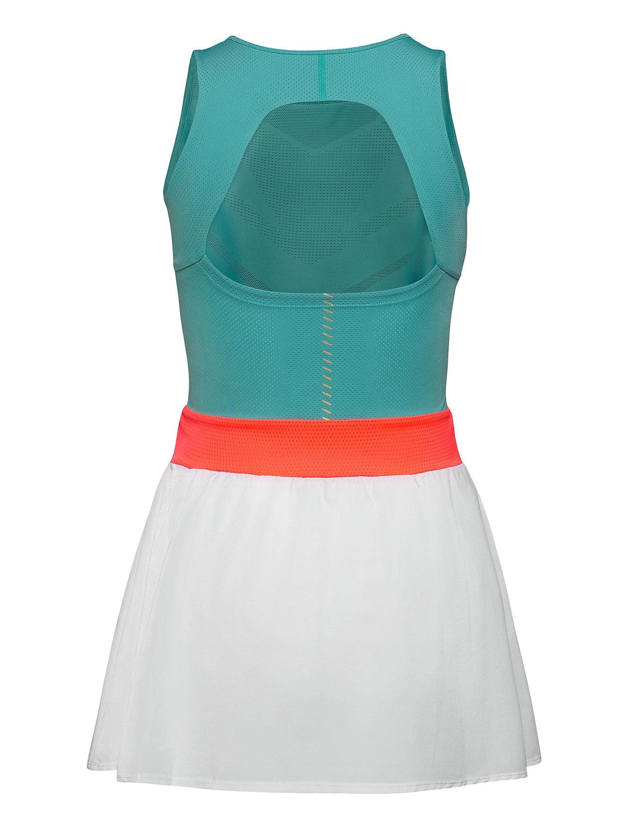ASICS Kleider | Tennis W Dress Kurzes Kleid Grün ASICS