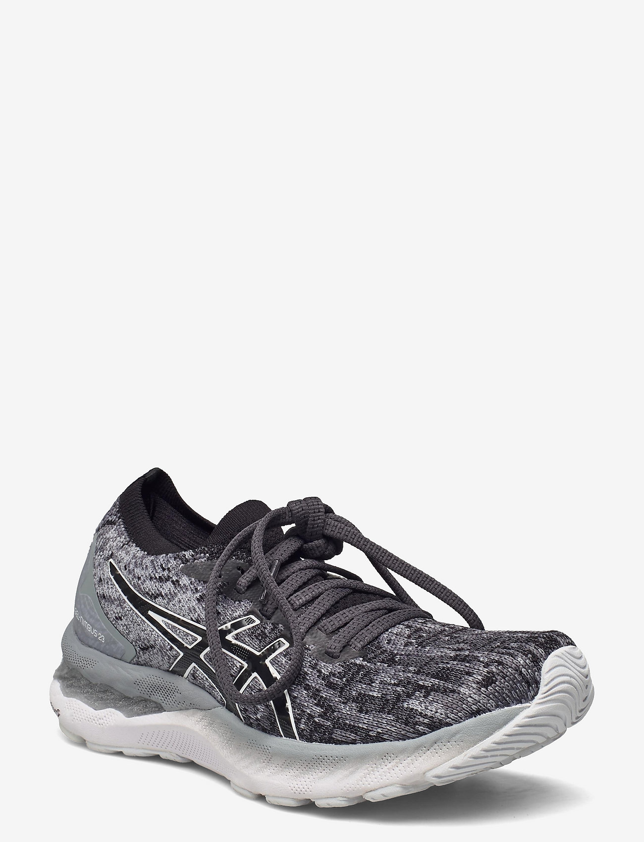 Asics - GEL-NIMBUS 23 KNIT - running shoes - sheet rock/black - 0