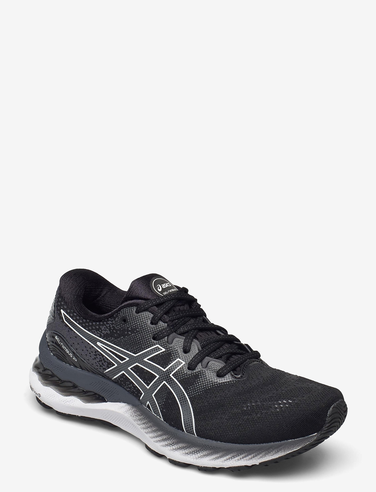 Asics - GEL-NIMBUS 23 - running shoes - black/white - 0