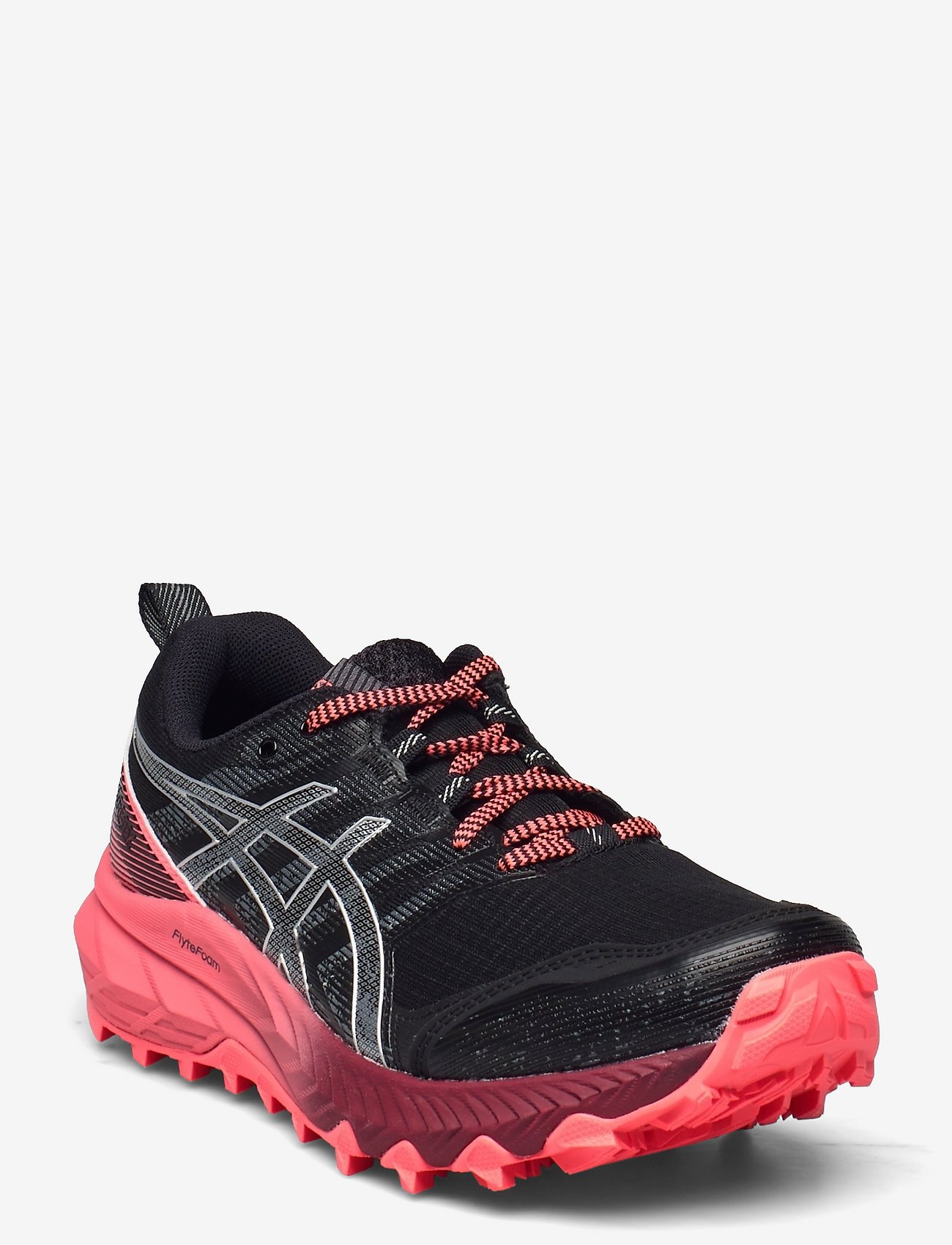 Asics - GEL-Trabuco 9 G-TX - running shoes - black/pure silver - 0