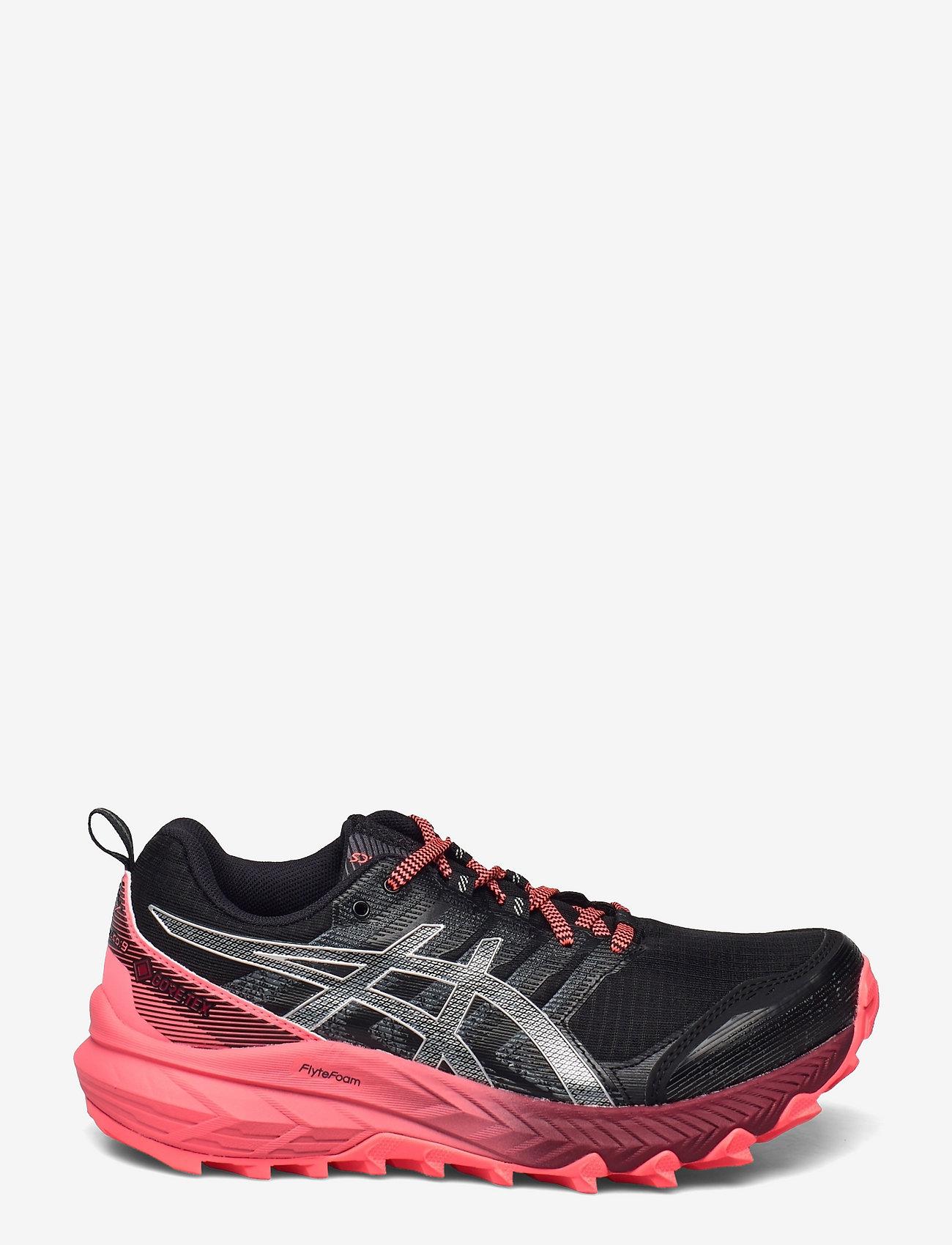 Asics - GEL-Trabuco 9 G-TX - running shoes - black/pure silver - 1