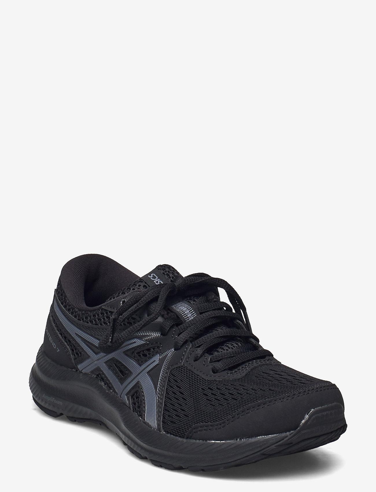 Asics - GEL-CONTEND 7 - running shoes - black/carrier grey - 0