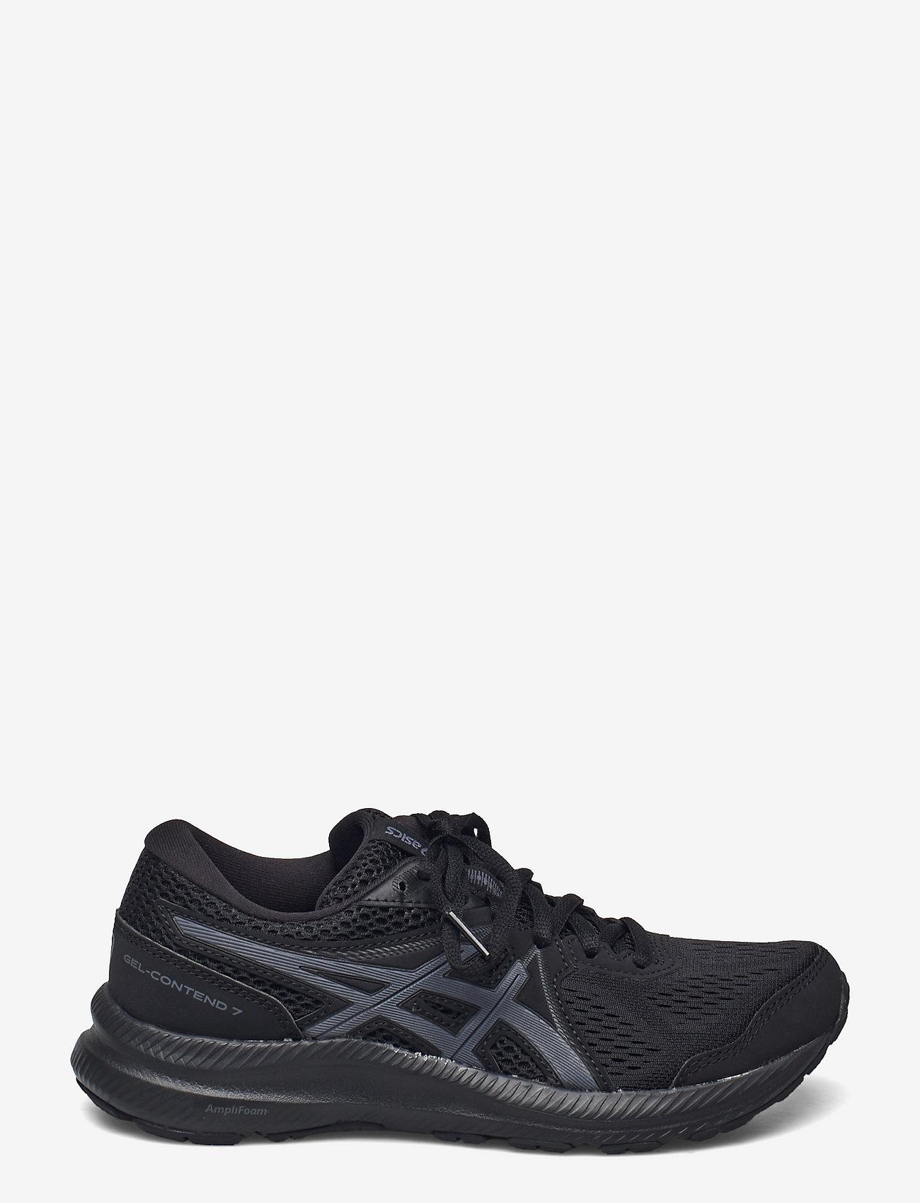 Asics - GEL-CONTEND 7 - running shoes - black/carrier grey - 1