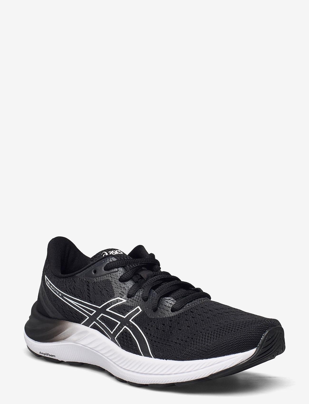Asics - GEL-EXCITE 8 - running shoes - black/white - 0