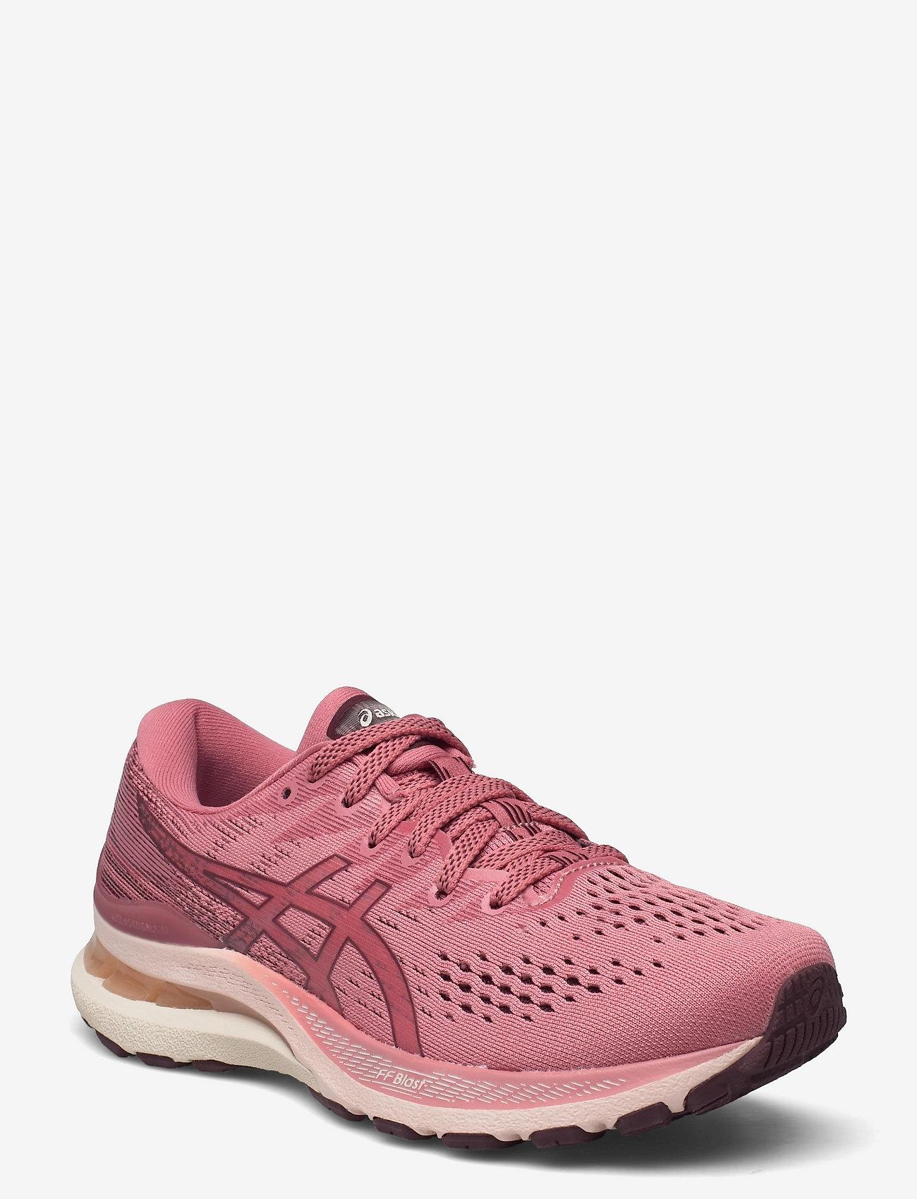 Asics - GEL-KAYANO 28 - running shoes - smokey rose/deep mars - 0