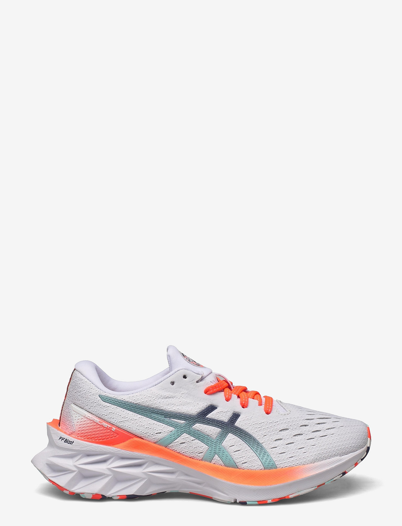 Asics - NOVABLAST 2 - running shoes - white/white - 1