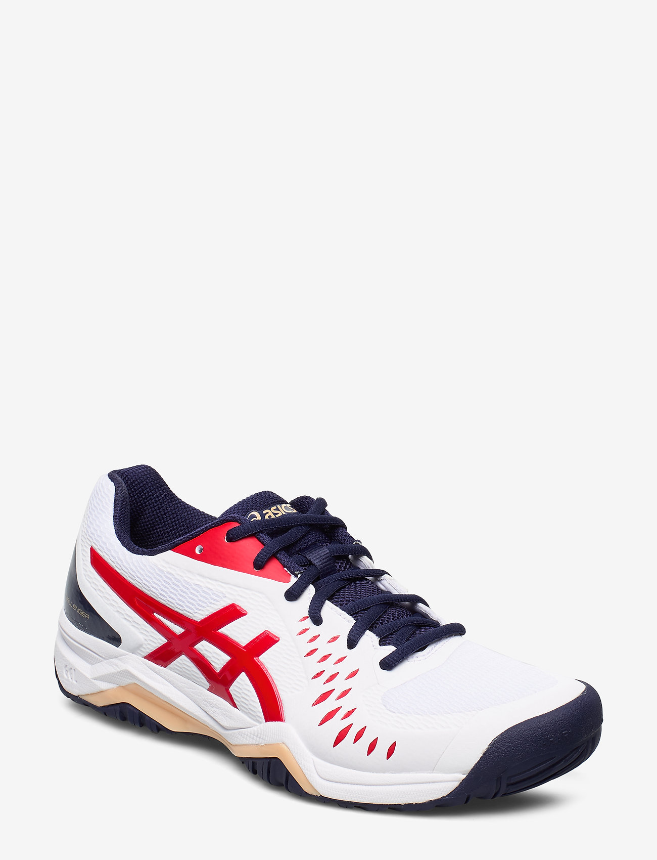 Asics - GEL-CHALLENGER 12 - training shoes - white/classic red