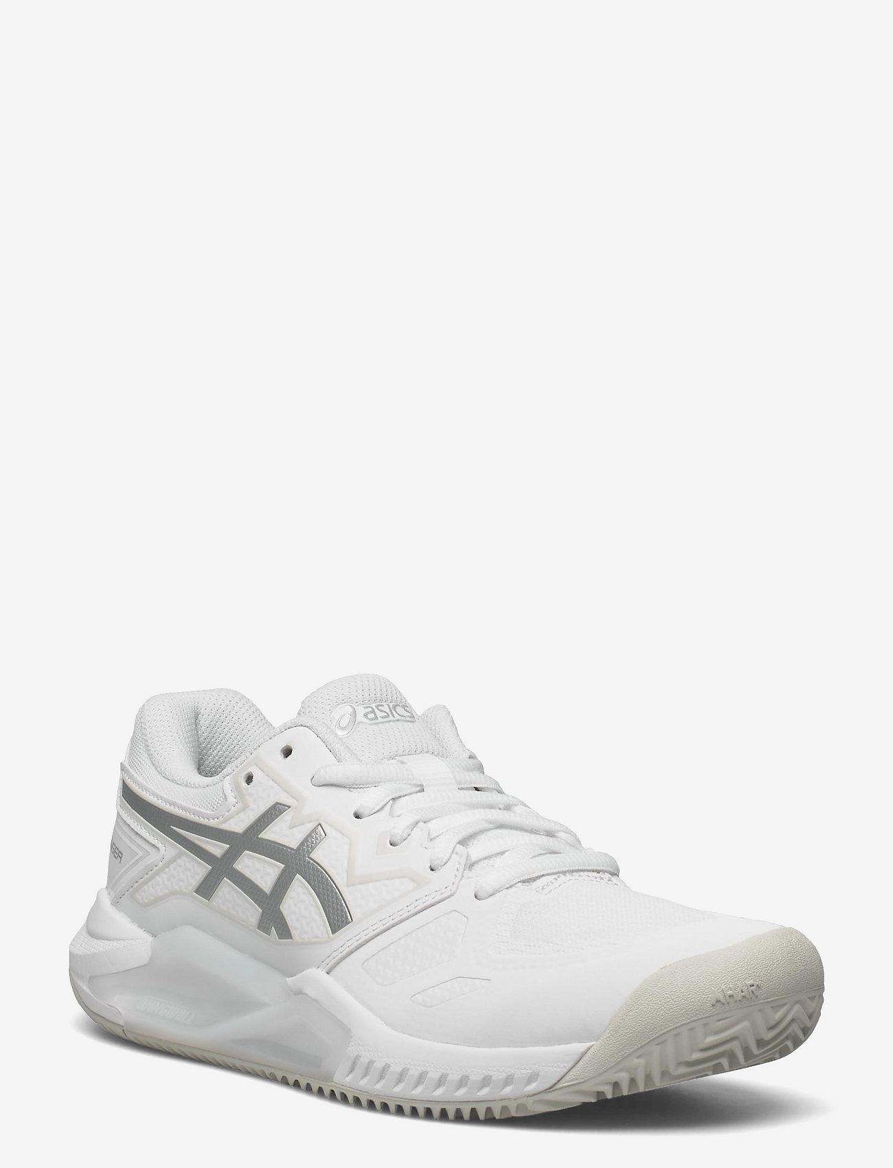 Asics - GEL-CHALLENGER 13 CLAY - ketsjersportsko - white/pure silver - 0