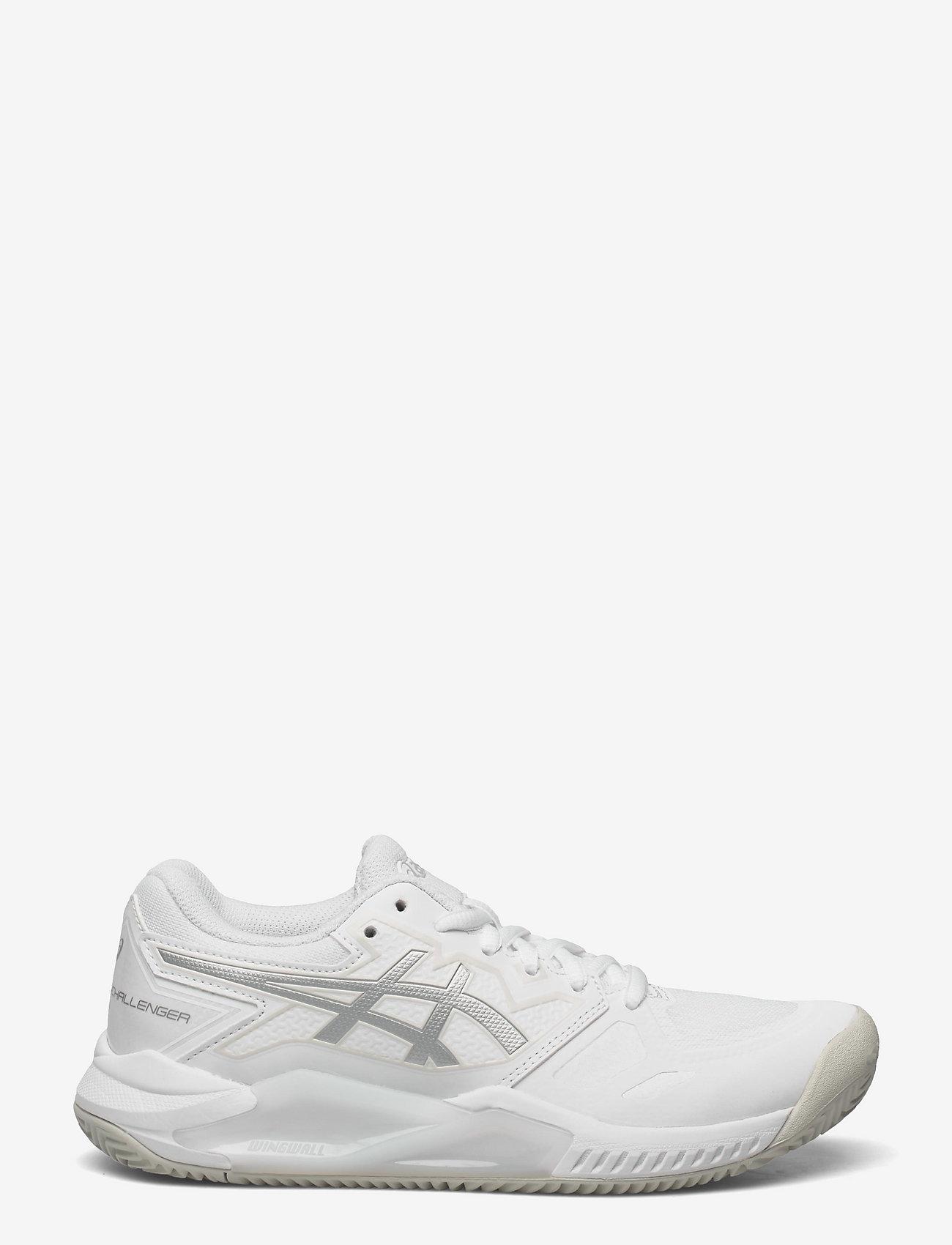 Asics - GEL-CHALLENGER 13 CLAY - ketsjersportsko - white/pure silver - 1