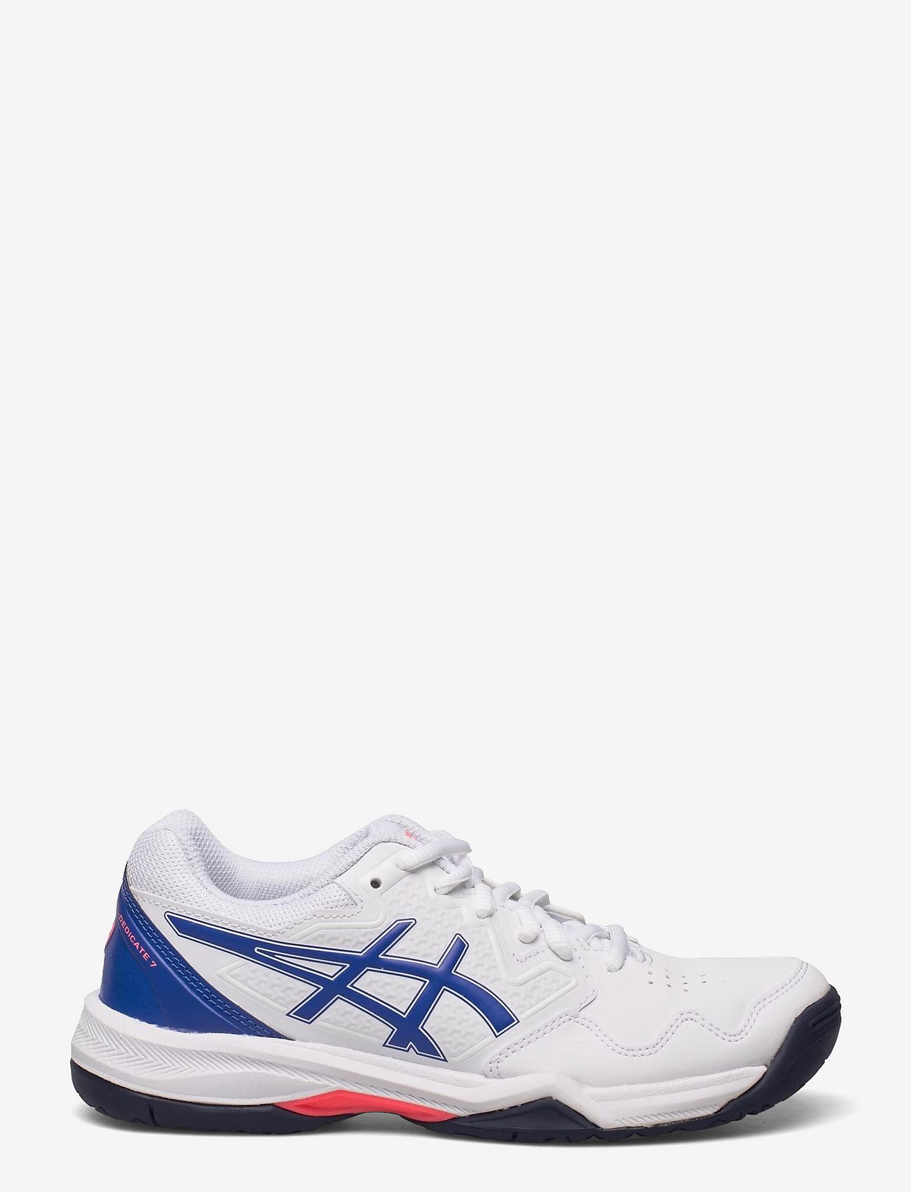 Asics - GEL-DEDICATE 7 - ketsjersportsko - white/lapis lazuli blue - 1