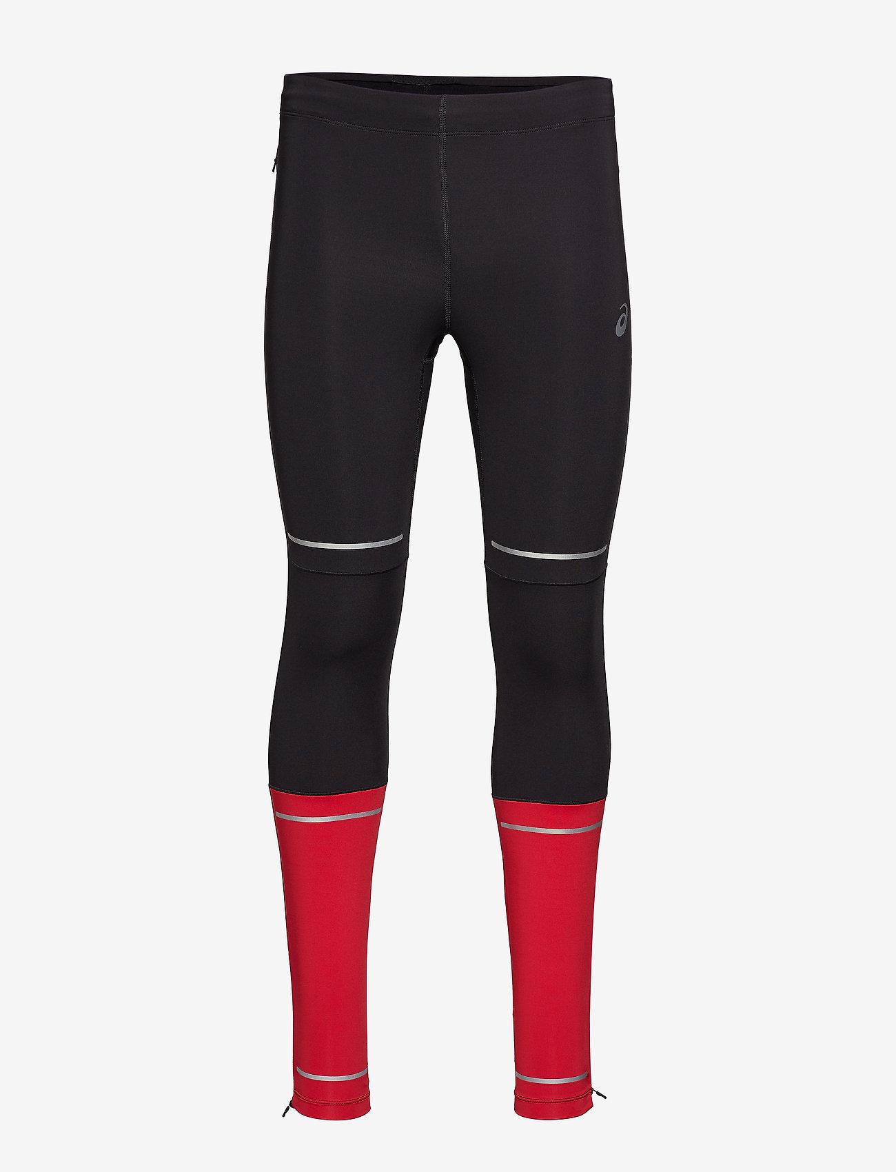 Asics - LITE-SHOW TIGHT - running & training tights - performance black/samba - 0
