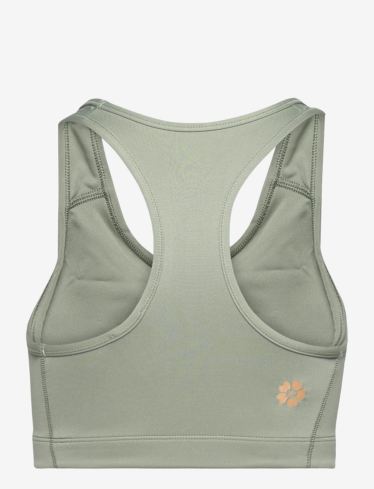 Asics - SAKURA ASICS SPIRAL BRA - sport bras: medium - slate grey - 1