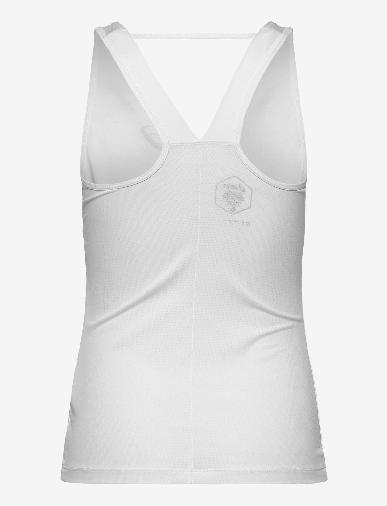 Asics - CLUB W TANK - linnen - brilliant white - 1