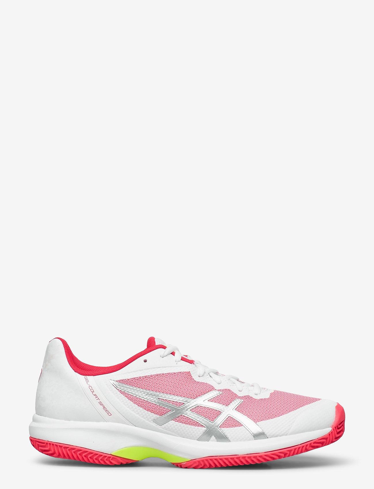 Asics - GEL-COURT SPEED CLAY - ketsjersportsko - white/laser pink - 0