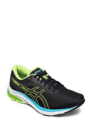 GEL-PULSE 12 - BLACK/HAZARD GREEN