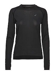 SEAMLESS LS - SP PERFORMANCE BLACK