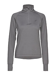 THERMOPOLIS LS 1/2 ZIP - SP CARBON HEATHER