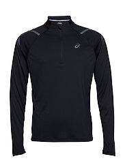 ICON LS 1/2 ZIP TOP - PERFORMANCE BLACK
