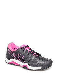 GEL-CHALLENGER 11 - BLACK/BLACK/HOT PINK