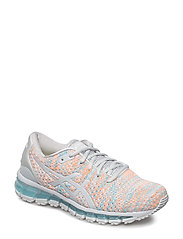 GEL-QUANTUM 360 KNIT 2 - GLACIER GREY, ORANGE POP