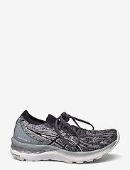 Asics - GEL-NIMBUS 23 KNIT - running shoes - sheet rock/black - 1