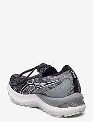 Asics - GEL-NIMBUS 23 KNIT - running shoes - sheet rock/black - 2