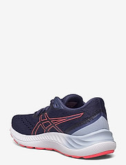 Asics - GEL-EXCITE 8 - running shoes - thunder blue/blazing coral - 2