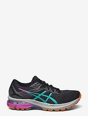 Asics - GT-2000 9 TRAIL - running shoes - black/baltic jewel - 1