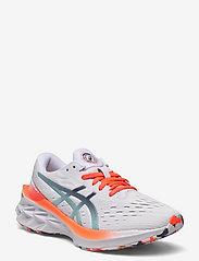 Asics - NOVABLAST 2 - running shoes - white/white - 0