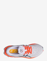 Asics - NOVABLAST 2 - running shoes - white/white - 3