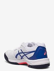 Asics - GEL-DEDICATE 7 - ketsjersportsko - white/lapis lazuli blue - 2