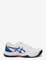 Asics - GEL-DEDICATE 7 CLAY - ketsjersportsko - white/lapis lazuli blue - 1