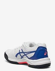 Asics - GEL-DEDICATE 7 CLAY - ketsjersportsko - white/lapis lazuli blue - 2