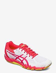 Asics - GEL-BLADE 7 - ketsjersportsko - white/laser pink - 0