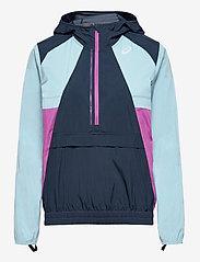 Asics - VISIBILITY JACKET - training jackets - french blue/smoke blue - 0