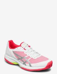 Asics - GEL-COURT SPEED CLAY - ketsjersportsko - white/laser pink - 1