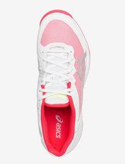 Asics - GEL-COURT SPEED CLAY - ketsjersportsko - white/laser pink - 3