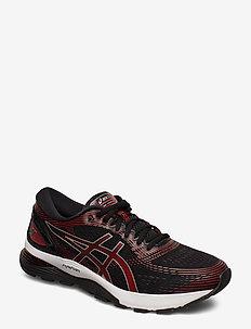 GEL-NIMBUS 21 - BLACK/CLASSIC RED