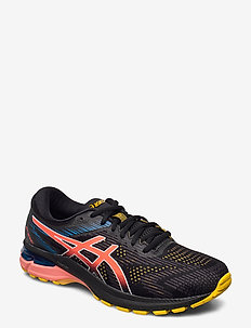 GT-2000 8 TRAIL - juoksukengät - black/sunrise red
