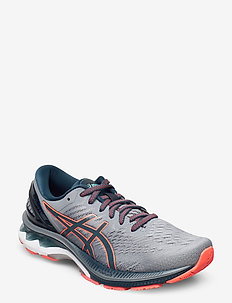 GEL-KAYANO 27 - running shoes - sheet rock/magnetic blue